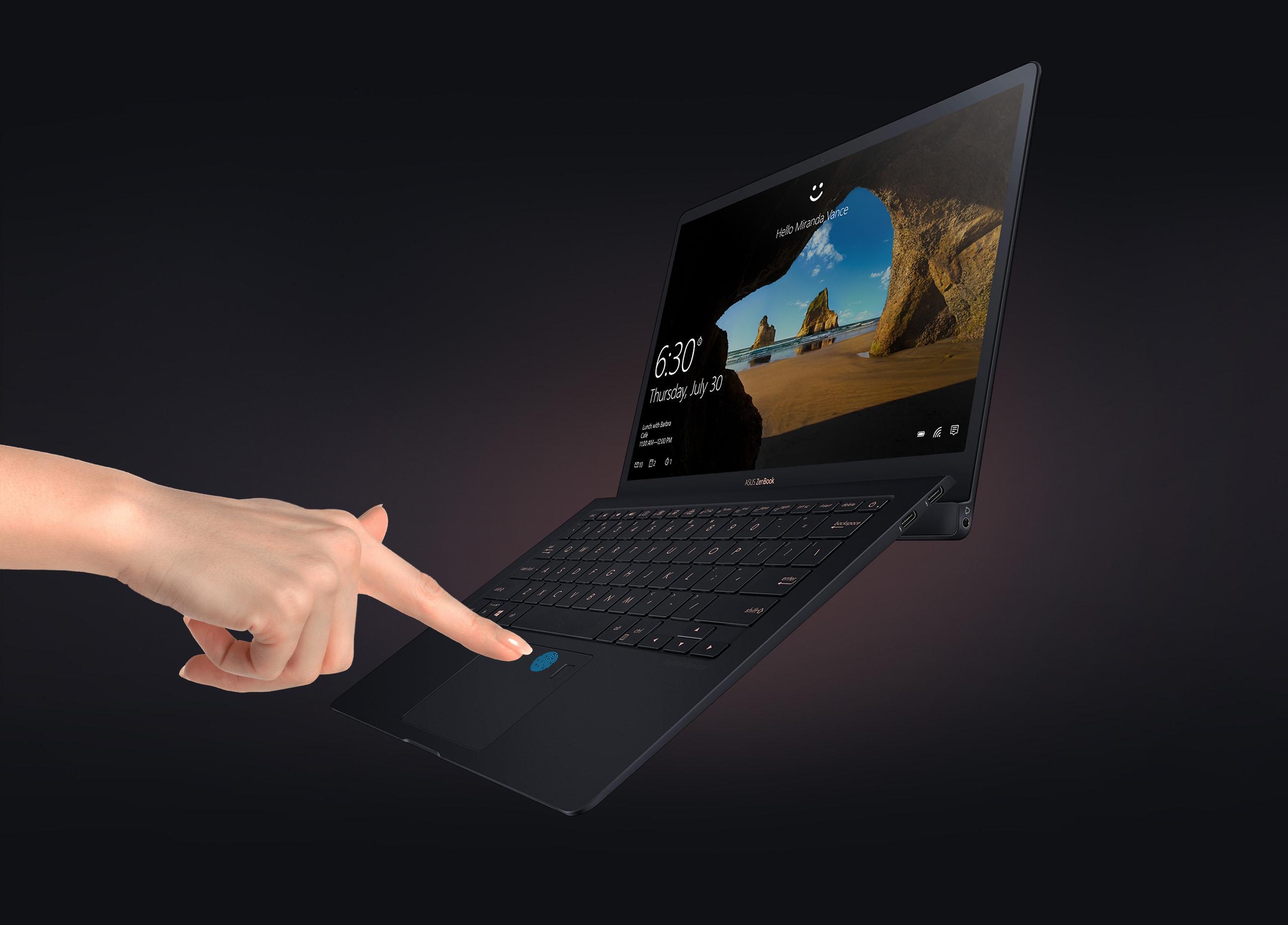 ASUS ZenBook S UX391FA XH74T - 13 3%22 - Core i7 8565U - 16 GB RAM - 512 GB  SSD