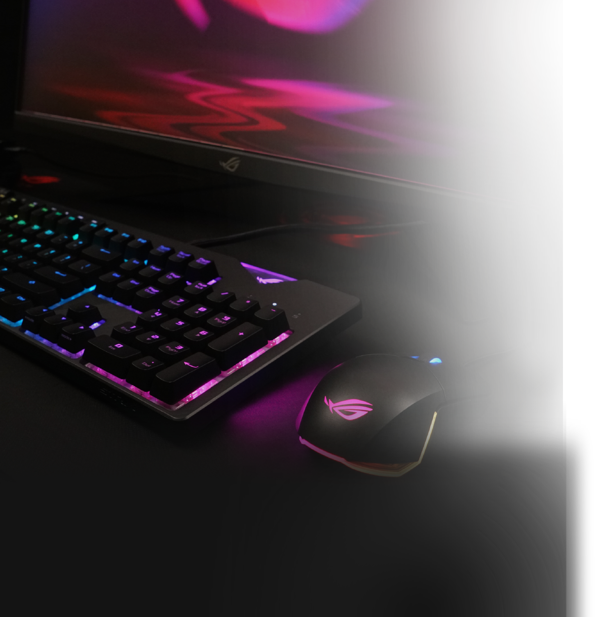 ASUS ROG Strix Flare RGB Mechanical Gaming Keyboard with Aura Sync - Cherry  MX Brown - Newegg com