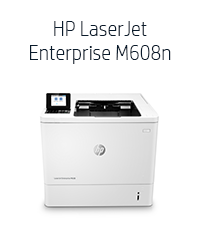 HP LaserJet Enterprise M609dn Monochrome Laser Printer K0Q21A