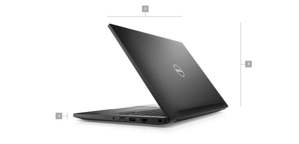 DELL Laptop Latitude 7490 (R5VYY) Intel Core i7 8th Gen 8650U (1 90 GHz) 16  GB Memory 256 GB SSD Intel HD Graphics 620 14 1