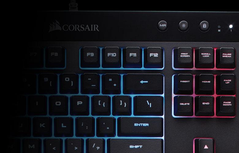 Corsair Gaming K55 RGB Keyboard - Aria PC